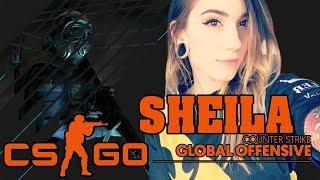 CS:GO - Best Female Pro Player: Sheila compilation #3