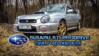 Subaru Impreza WRX STI 2002 Prodrive ONLY 40 000 km