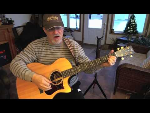 1384 -  Blue Suede Shoes  - Elvis Presley cover with guitar chords and lyrics