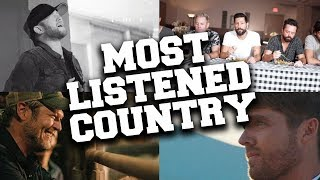 Top 100 Most Listened Country Songs in November 2019