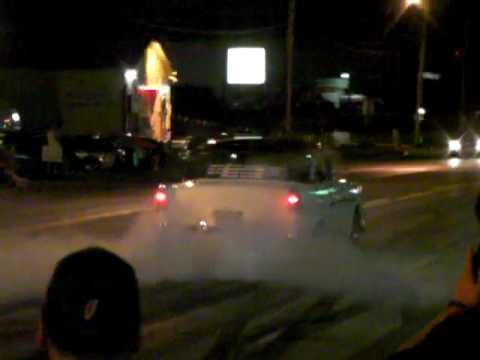 2009 Hot Rod Power Tour Dayton, OH burnouts