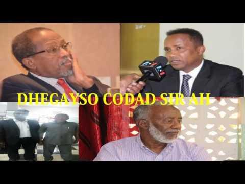 Cali Khaliif Iyo Wasiirada Dhulbahante Ee Somaliland Oo Hargeysa Ku Kulmay