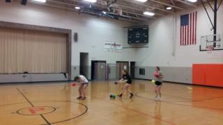 When You play dodgeball with a Softball player. licensing@viralhog.com