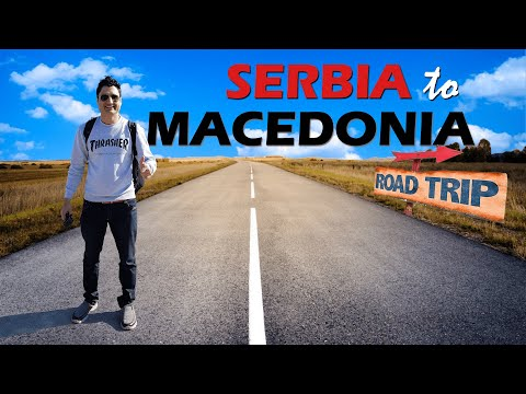 Road Trip: Belgrade Serbia to Skopje Macedonia by Bus