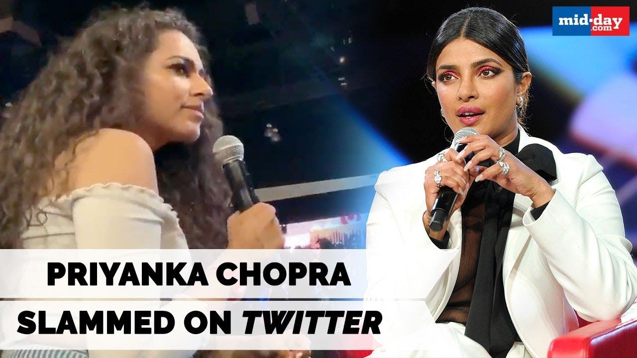 Actress Priyanka Chopra accused of 'encouraging nuclear war'
