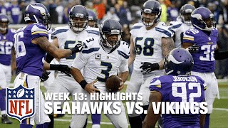 Seahawks vs. Vikings | Week 13 Highlights | NFL