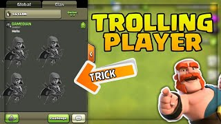 TROLLING PLAYERS IN CLASH OF CLANS | PRANKS | TYPES OF PLAYER #3