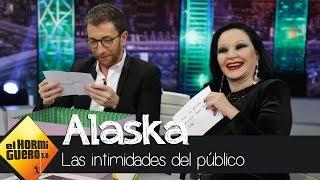 Alaska y Pablo Motos destapan las confesiones más íntimas del público - El Hormiguero 3.0