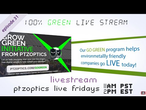 100% Green Live Stream #Solar w/ live #drone footage (EP 31)