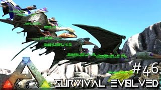 ARK: Survival Evolved - FLYING METAL FORGE - VOLCANO STRIPPED CLEAN !!! [Ep 46] (Server Gameplay)