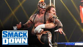 Mysterios vs. Zayn & Corbin – Elimination Chamber Qualifying Match: SmackDown, Feb. 12, 2021