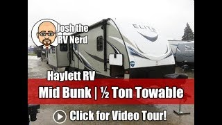 2018 Passport 34MB Elite MID BUNK Ultralite Half Ton Travel Trailer by Keystone RV