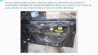 Reparación del elevalunas del BMW 320