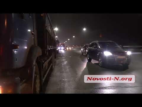 Видео 'Новости-N': В Николаеве везде пробки