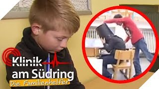 Leon (10) hat Angst vor Niklas: Wird er gemobbt?   Klinik am Südring - Die Familienhelfer   SAT.1 TV
