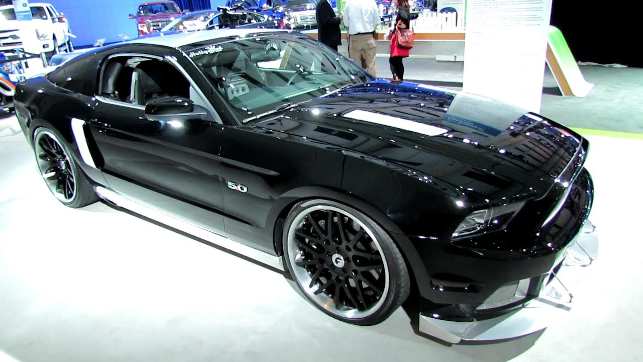 Customized Mustang >> 2014 Ford Mustang Gt Convertible Custom Exterior Walkaround 2014