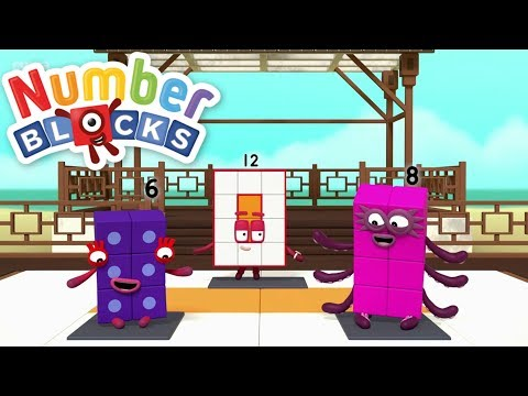 Numberblocks New Episode Collection - Twelve! | 4 Episodes