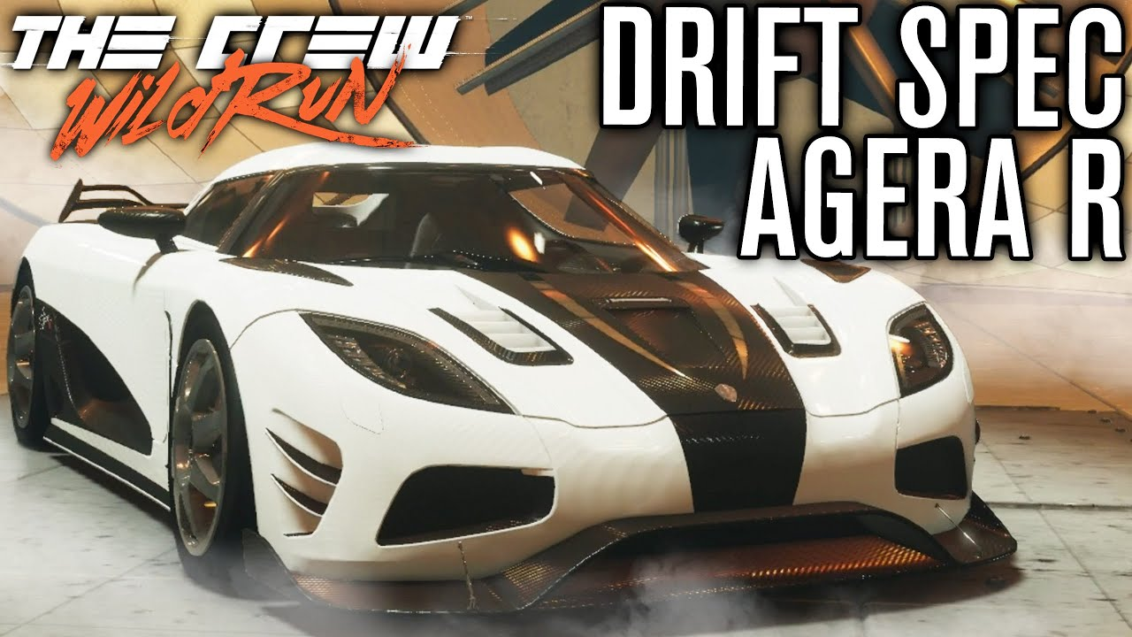 KOENIGSEGG AGERA R DRIFT SPEC! | The Crew Wild Run Gameplay w/ The ...