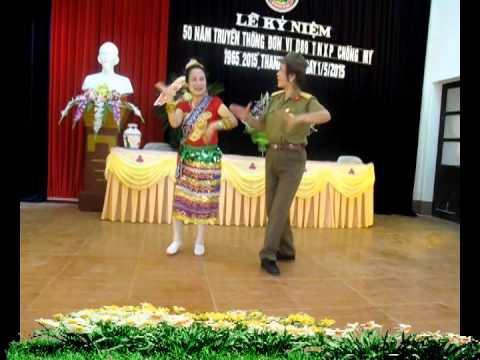 Múa Cô gái Sầm nưa do Hải Mĩ và Minh Nguyệt Phường Quang Trung TP Thái Bình trình diễn