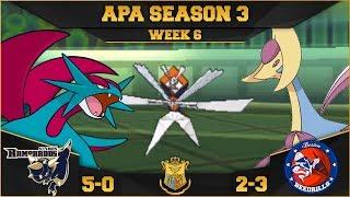 TO THE FLIP OF A COIN!   StL Rampardos VS Bos Beedrills APA S3 W6    Pokemon Ultra S/M