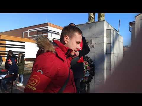 Митинг против строительства нитроцеллюлозы в Невинномысске (22.12.2019)