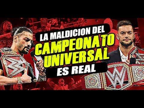 LA MALDICION DEL WWE CAMPEONATO UNIVERSAL || ROMAN REIGNS DEJA EL CAMPEONATO UNIVERSAL VACANTE