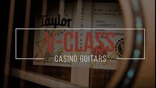 Exclusive look at 4 Taylor V CLASS Guitars...!!!