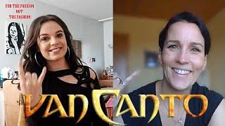 Van Canto interview (Inga Scharf) by Natasja Lain