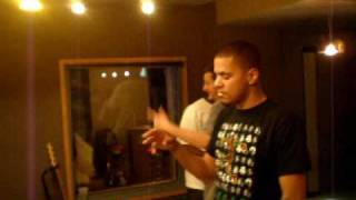J. Cole On Green Lantern (Behind the Scenes)
