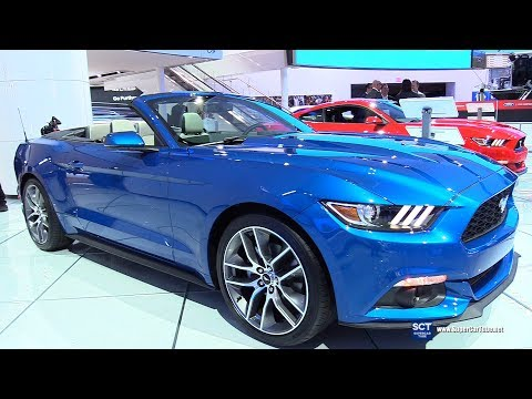 2017 Ford Mustang Convertible - Exterior and Interior Walkaround - 2017 Detroit Auto Show