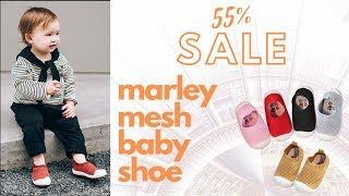 Marley Mesh Baby Shoes | 55% Discount