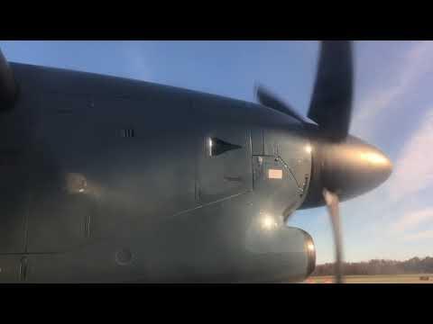American Airlines Dash 8-300 Huntington WV - Charlotte NC HD