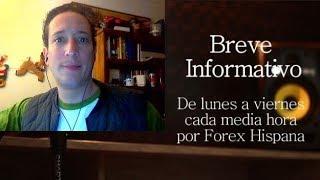 Breve Informativo - Noticias Forex del 14 de Diciembre 2018