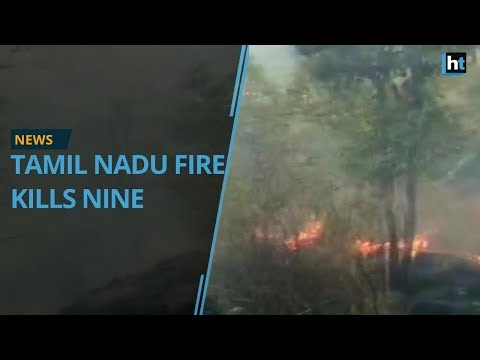 Nine killed in Tamil Nadu forest fire, Indian Air Force deployed for rescue efforts