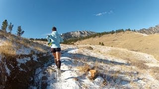 Running in Boulder: Long Run on trails