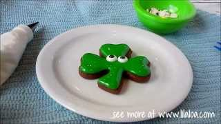 How To Make A Shamrock Cookie