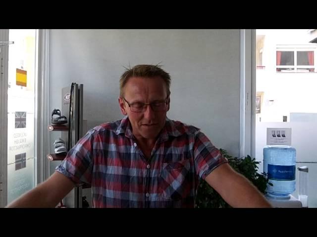 Veldig fornøyd kiropraktorpasient i Spania