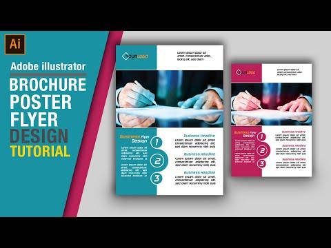 how-to-make-flyer-in-illustrator-poster-design-brochure-design-in-adobe-illustrator-photoshop-course