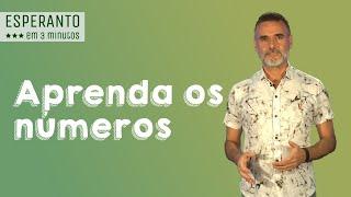 Esperanto em 3 Minutos: aprenda os números