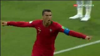 FIFA - 2018. Португалия - Испания. Второй гол Криштиану Роналду