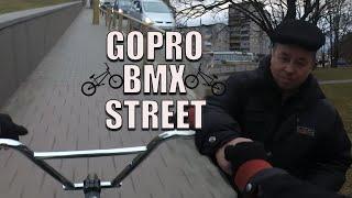 GOPRO BMX STREET R D NG  Мужик оценил мой трюк  Гродно