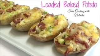 Loaded Baked Potato- Twice baked potatoes - Episode 431