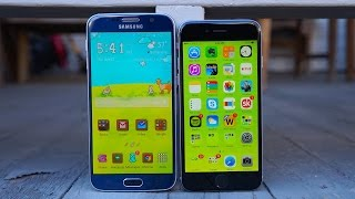 Galaxy S6 vs iPhone 6: Samsung Finally Brings the Heat