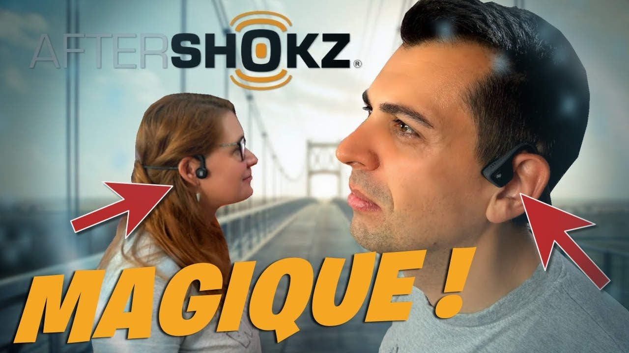 2 Casques Audio Du Futur Conduction Osseuse Aftershokz Ejayremy