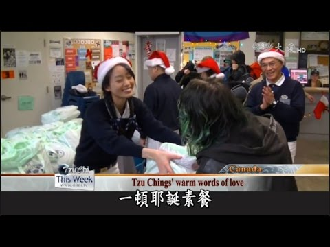 Tzu Chi volunteers share holiday joy with those forgotten by society