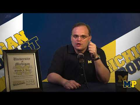 Michigan Podcast #012 | BTN Camp Observations | Chris Balas | Alternate Unis
