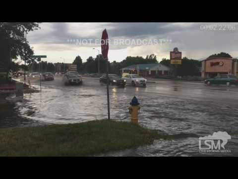 7-19-16 Colorado Springs, CO Flash Flooding