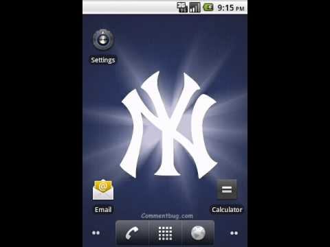 Ny yankees live wallpaper by commentbug youtube ny yankees live wallpaper by commentbug voltagebd Choice Image