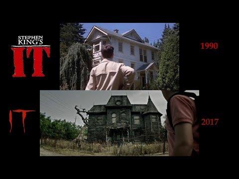 Stephen King's IT: SidebySide 2017 Film 1990 Miniseries V2