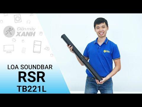 Loa Soundbar RSR TB221L - Âm Thanh đỉnh Cao Giá Rẻ   Điện Máy XANH
